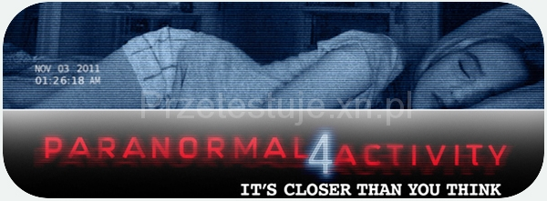 Paranormal Activity 4 - banner