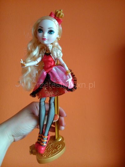 lalka Ever After High, Ever After High dolls, Apple White