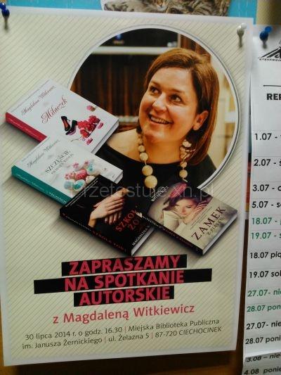 Magdalena Witkiewicz w Ciechocinku