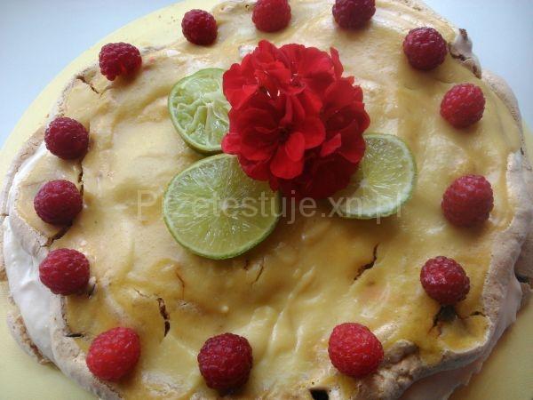 tort limonkowy z lemon curd