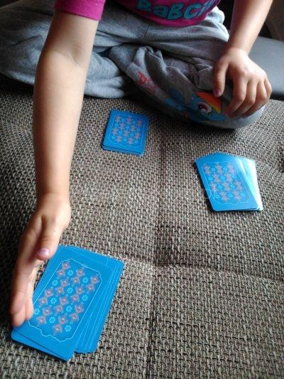 karty do gry Kraina Lodu Trefl