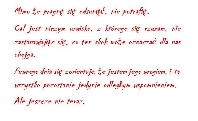 cytat z Czerwonej królowej