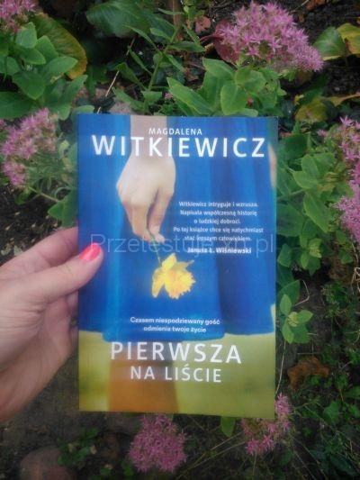 Magdalena Witkiewicz Pierwsza na liście