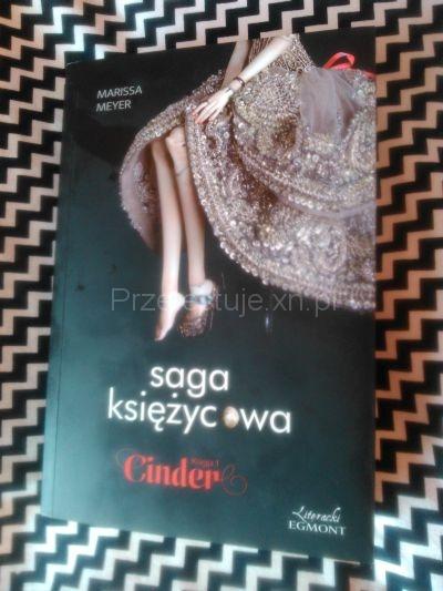 Saga Księżycowa- Cinder