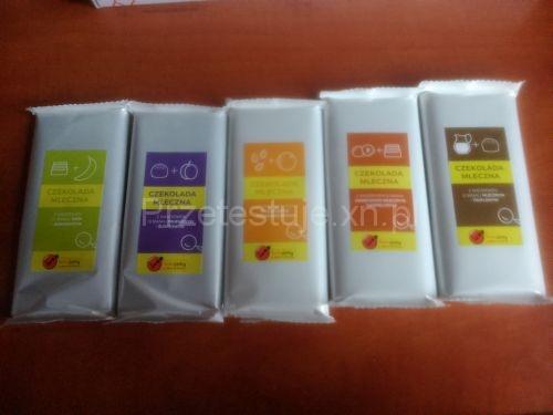 Test czekolad z Biedronki