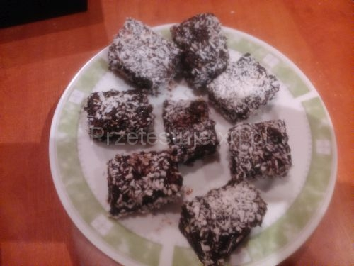 Test czekolad z Biedronki Lamingtony