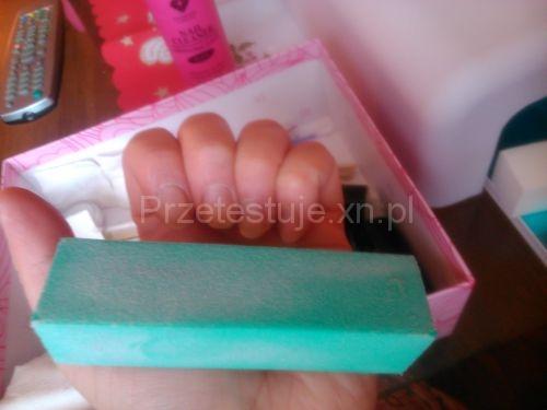 manicure hybrydowy  przygotowanie paznokci