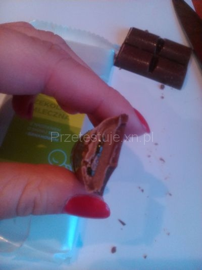 Test czekolad z Biedronki Bananowa i toffi