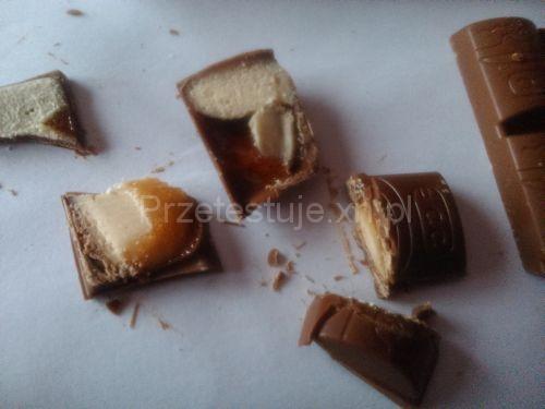 Test czekolad z Biedronki migdałowo pomarańczowa
