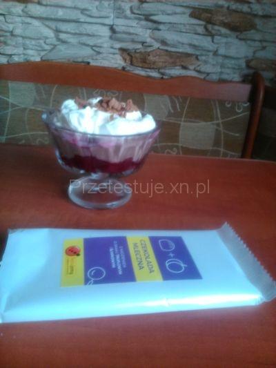 Test czekolad z Biedronki Domowy budyń czekoladowy