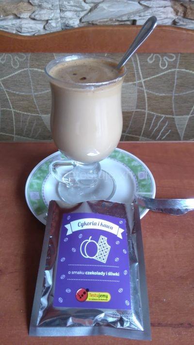 Napój cykoriowo-kawowy Z bIEDRONKI o smaku śliwkowym