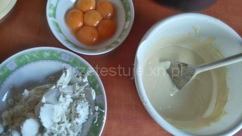 Sernik japoński sernik z trzech składników
