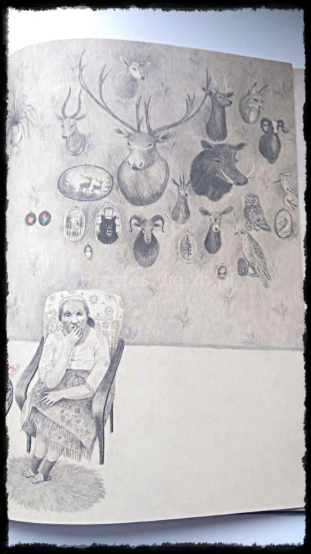 Czerwony Kapturek Wydawnictwo Tako ilustracje Joanna Concejo