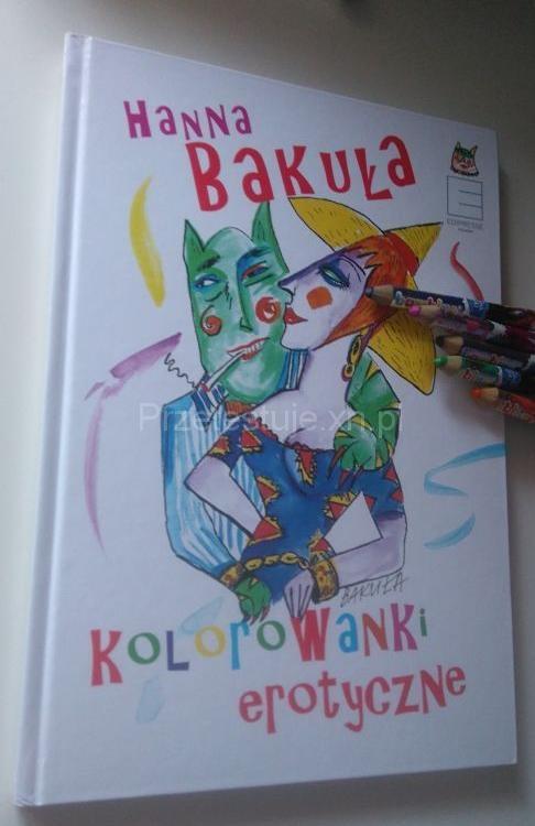 kolorowanki erotyczne Hanna Bakuła