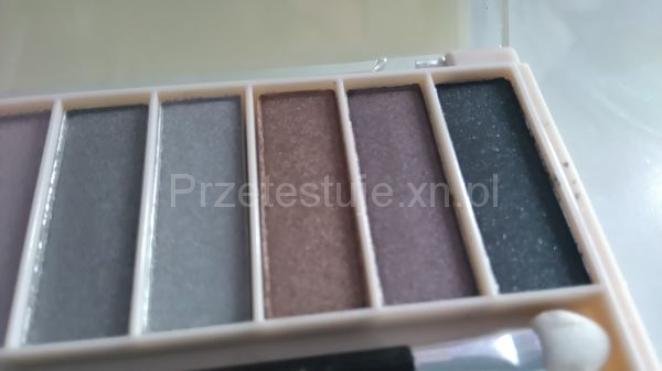 kolory cieni Lovely Nude Make Up Kit