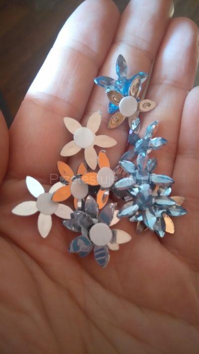 kwiatki z cyrkonii
