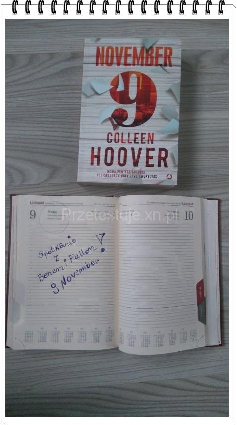 Colleen Hoover November 9
