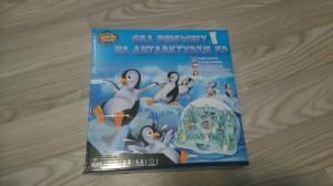 Pingwiny na Antarktydzie