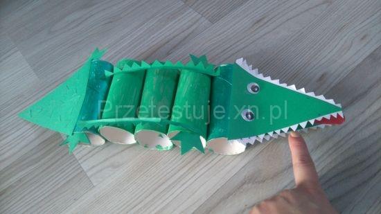 jak zrobić domowego krokodyla