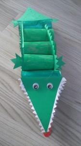 jak zrobić krokodyla