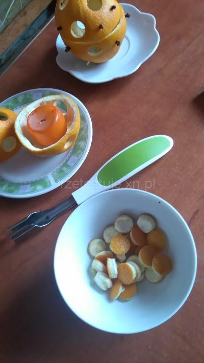 wykrawaczka do pomarańczy