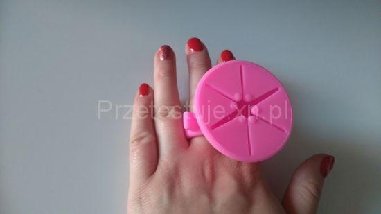 Silikonowy pierścionek