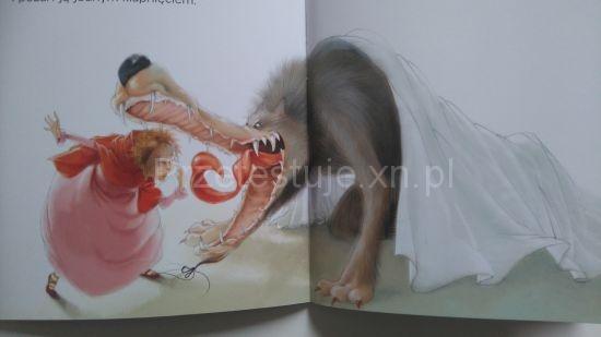 Czerwony Kapturek Ilustracje Silvi Provantini