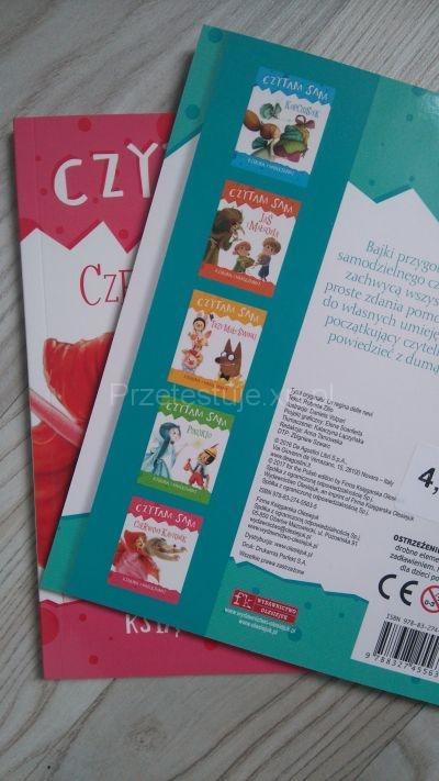 Książki z serii Czytam Sam wydawnictwa Olesiejuk