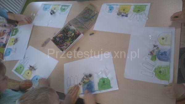 przedszkolaki w akcji