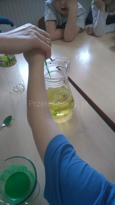 zielony olej