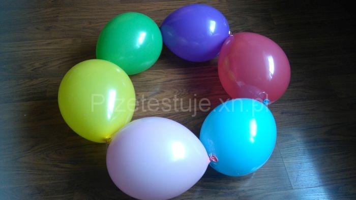 Okrąg z balonów