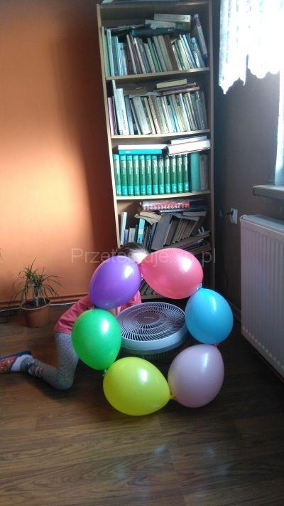 balony na podłodze