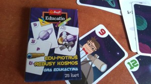 Edu-Piotruś Rebusy Kosmos