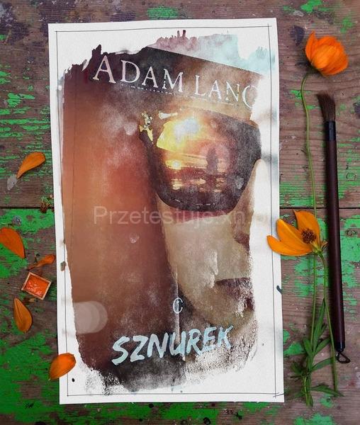 Adam Lang Sznurek okładka