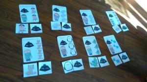 karty z zadaniami