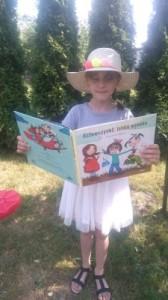 Nadia czyta Dziewczynki latają wysoko