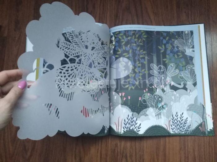 Giselle koronkowe ilustracje