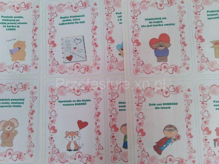 przykłady kart